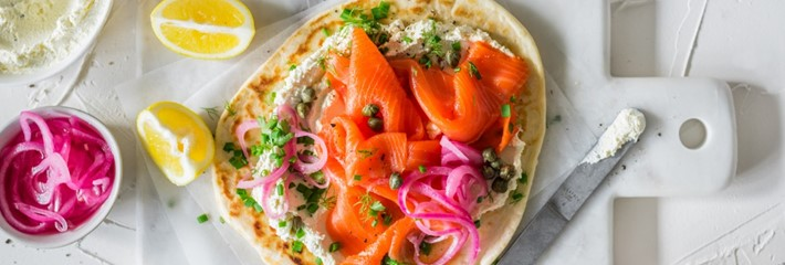Regal Salmon Moody Cheese Flat Breads 11984 7