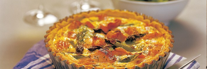 Regal Smoked Salmon Quiche